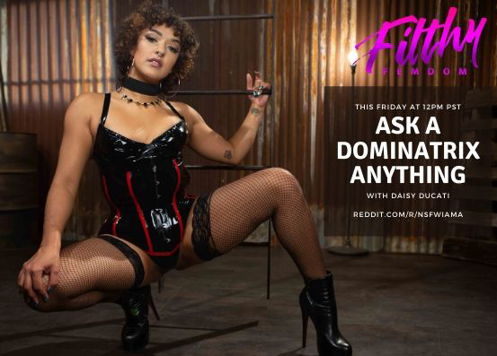 Ask a Dominatrix Anything with Daisy Ducati