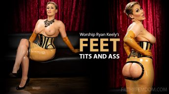 Worship Ryan Keely's Feet, Tits, and Ass