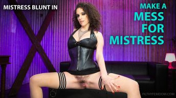 Mistress Blunt in Make a Mess for Mistress
