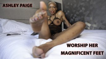 Ashley Page Worship Her Magnificent Feet